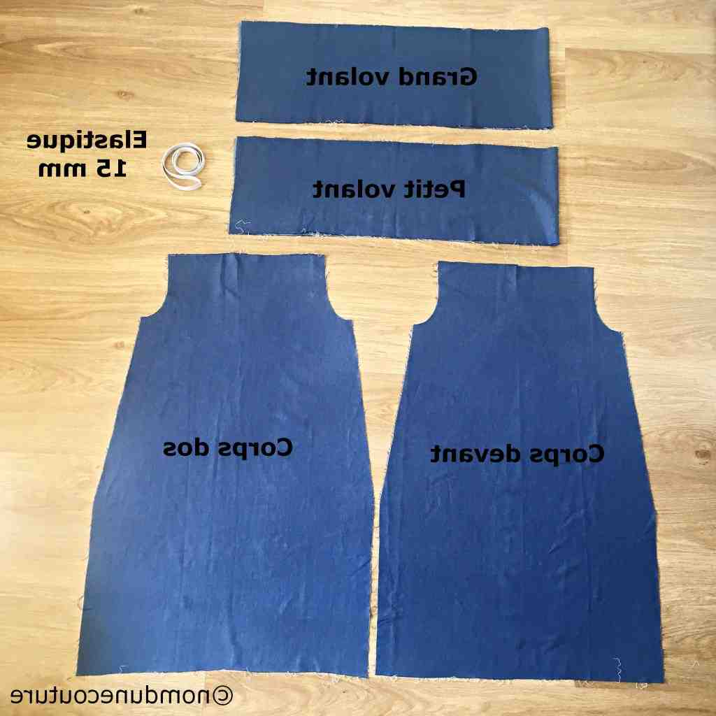 Comment ajouter du tissu à une robe?