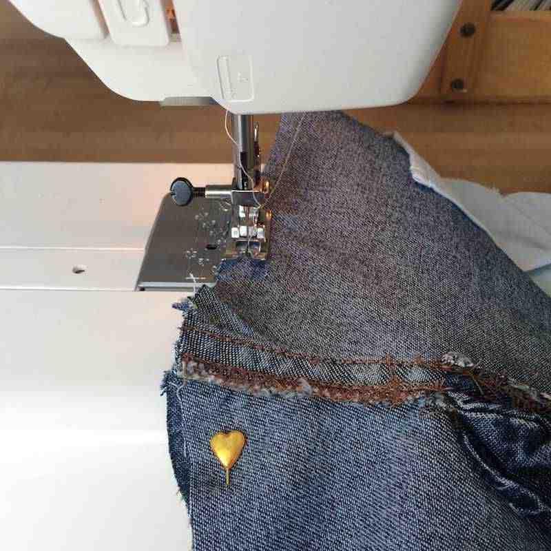 Comment coudre un jean?