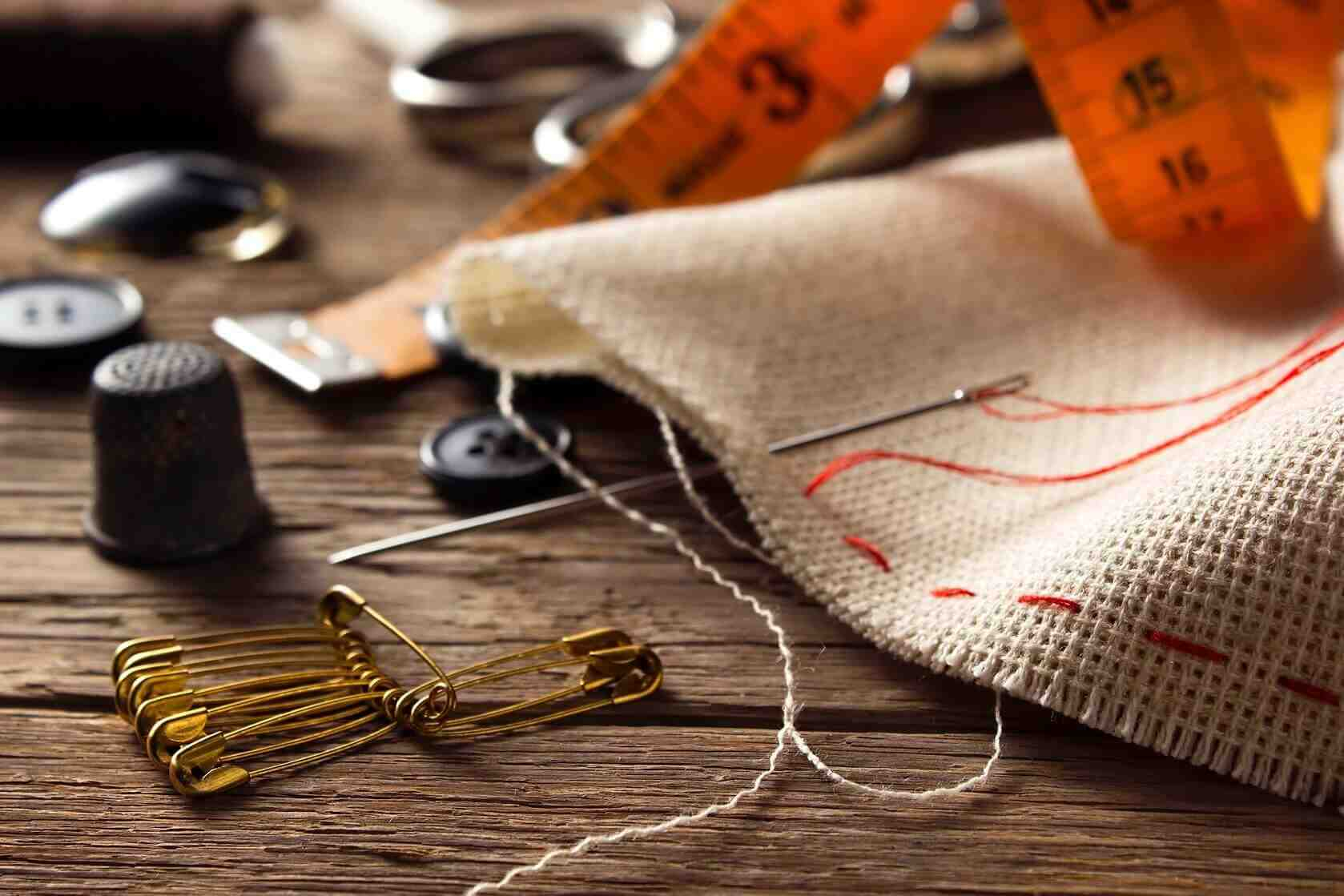Comment faire une belle couture à la main?