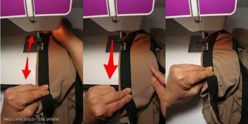Comment faire une couture de surjet?