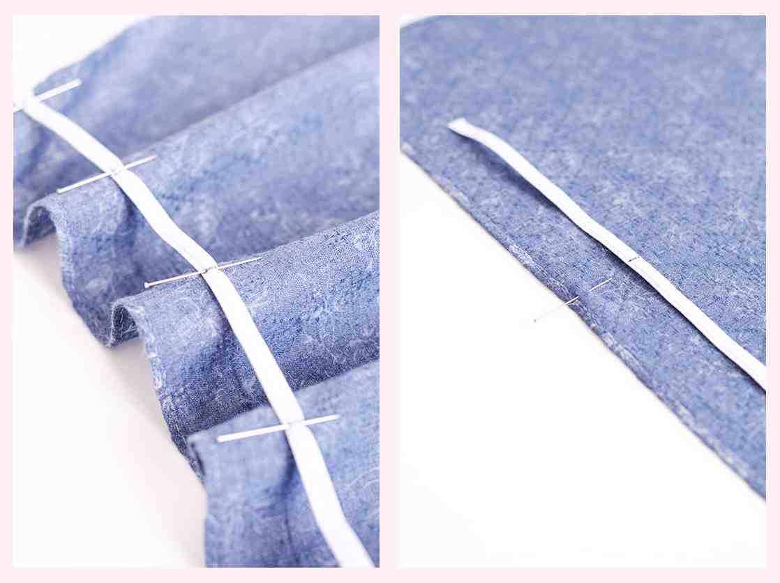 Comment faire une couture droite à la main?