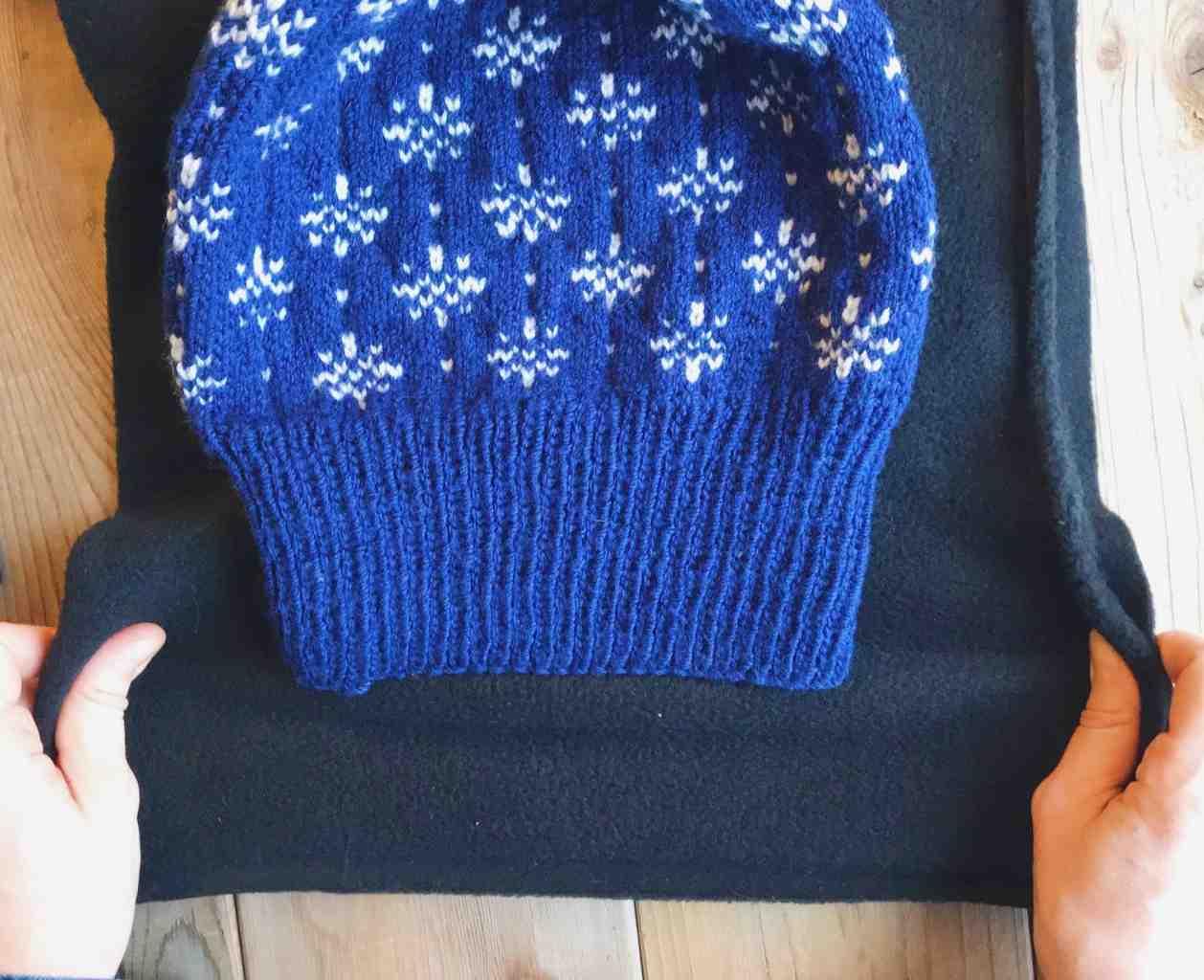 Comment faire une couture en tricot plat?