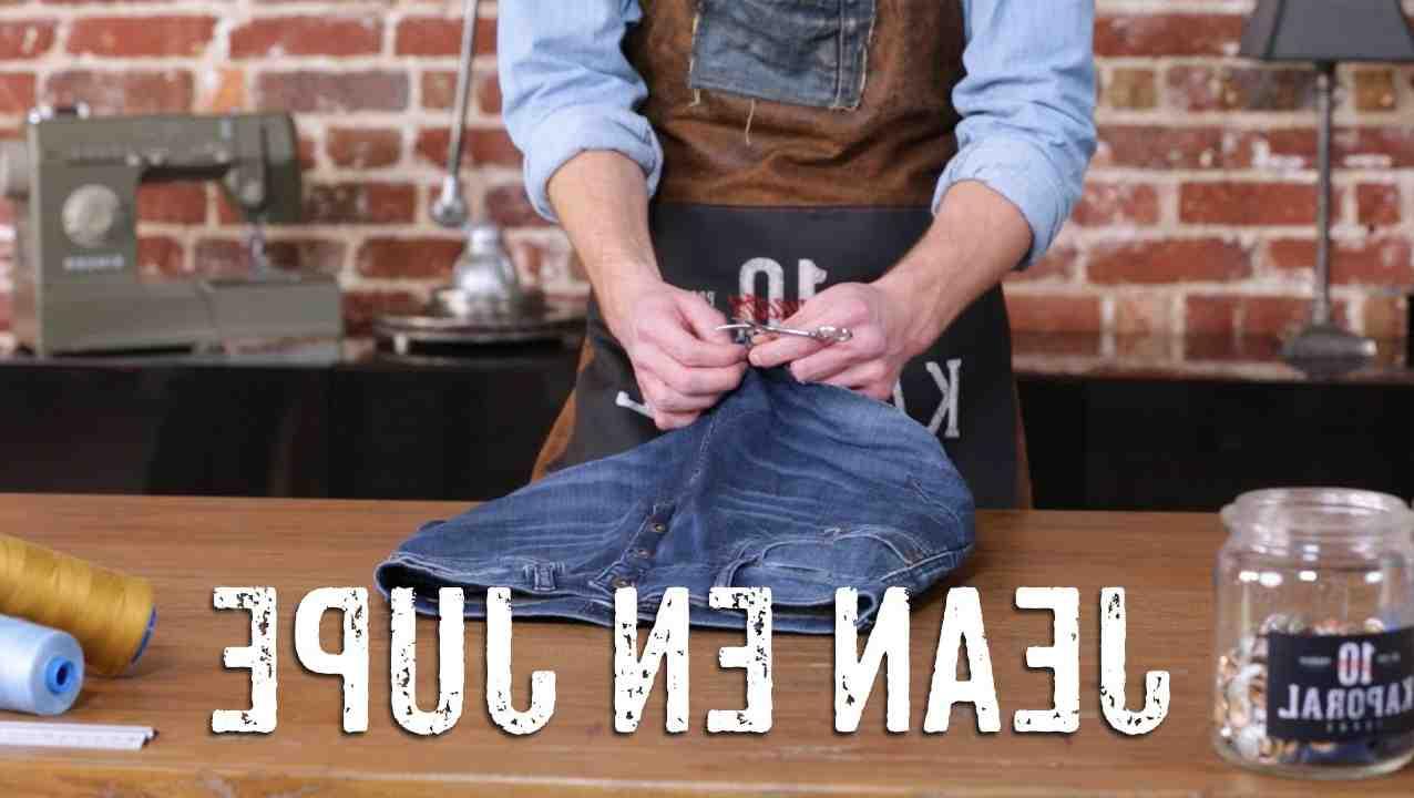 Comment rétrécir une veste en jean?