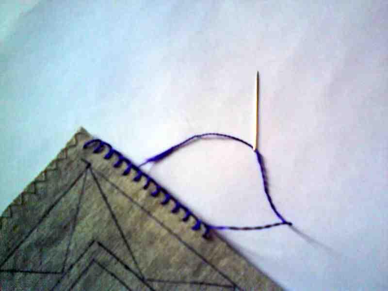 Comment surfiler les bords d'un tissu?