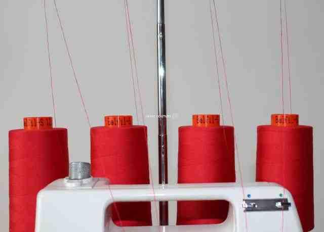 Quelle bobine de fil pour une machine à coudre?