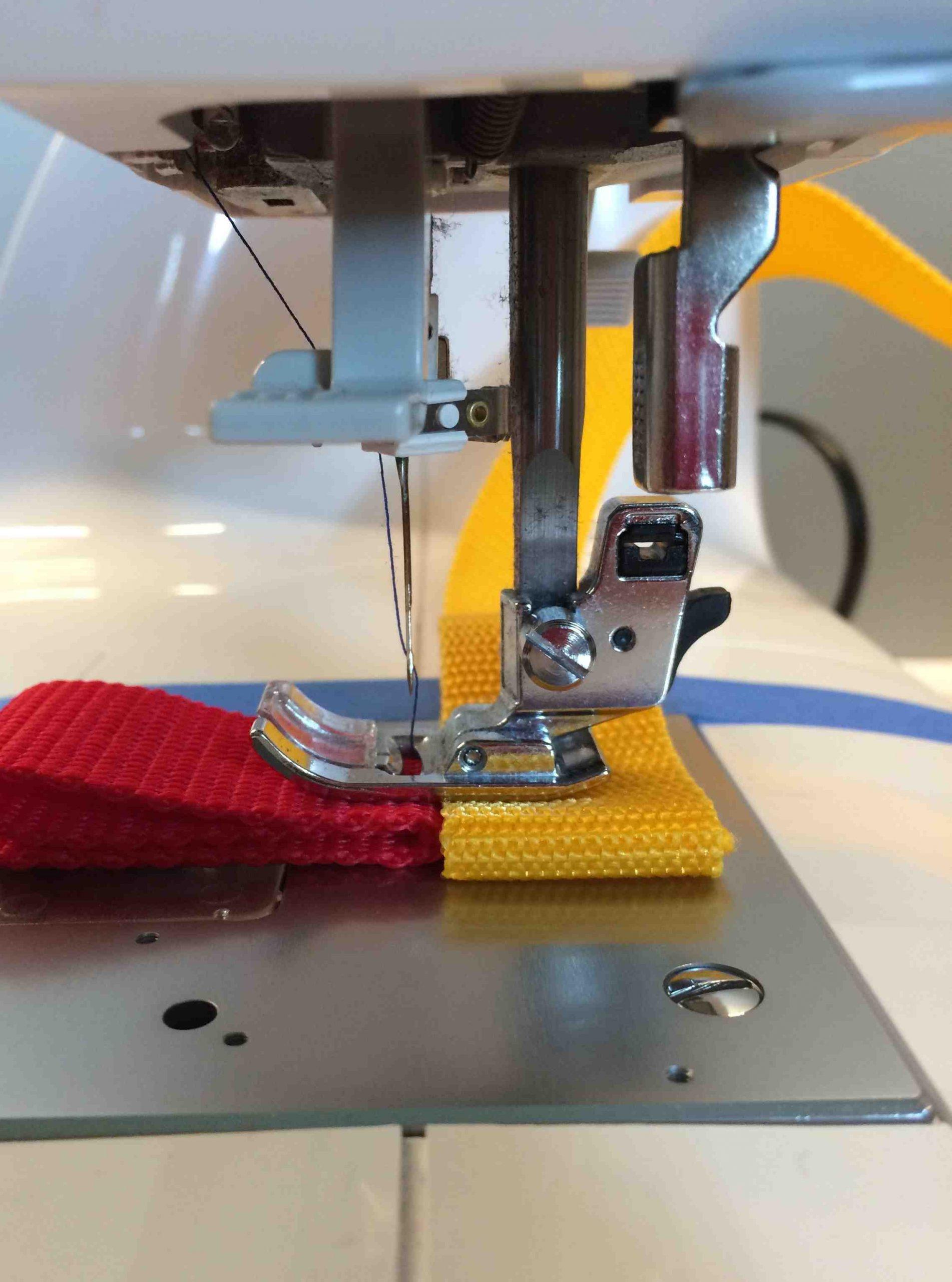 Quelle machine à coudre peut être sélectionnée pour un tissu épais?