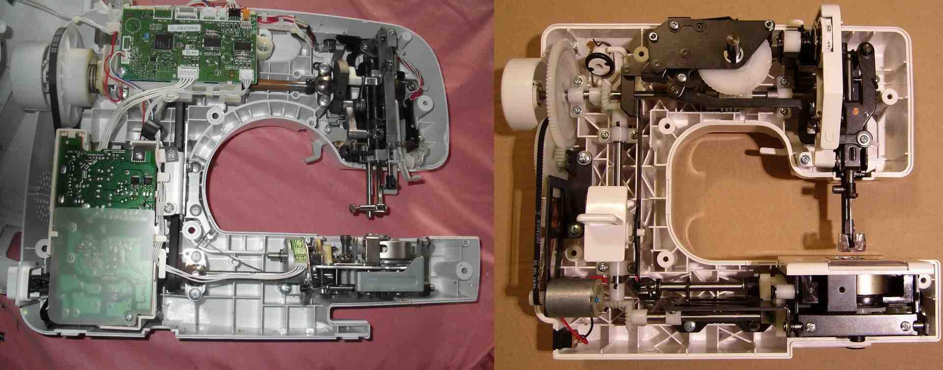 Qu'est-ce qu'une machine à coudre mécanique?