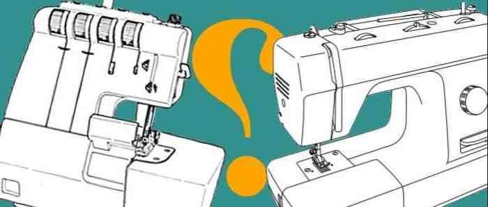 Qu'est-ce qu'une machine à coudre surjeteuse?