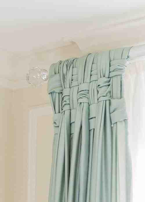 Comment attacher joliment mes rideaux?