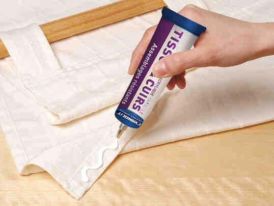 Comment faire de la colle à tissu?
