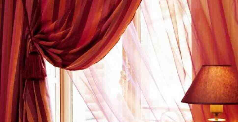 Comment faire un nœud sur un rideau?
