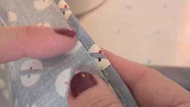 Comment faire une couture invisible à la machine ?