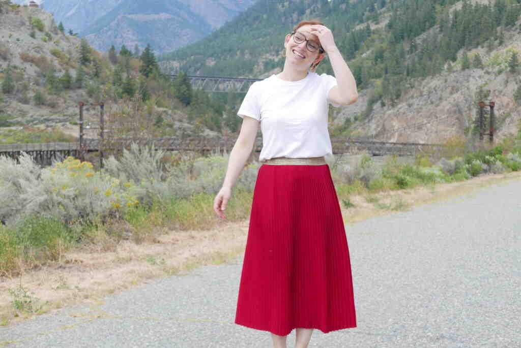Comment faire une jupe plissée facile?