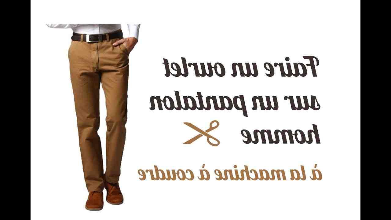 Comment ourler un pantalon sans machine à coudre?