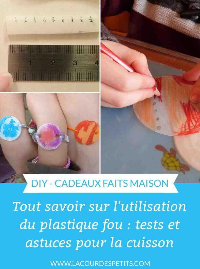Comment faire un pendentif en plastique fou?