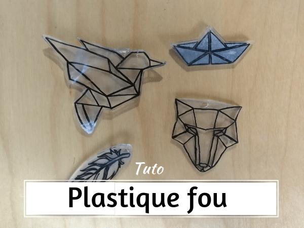 De quel plastique fabriquer du plastique fou?