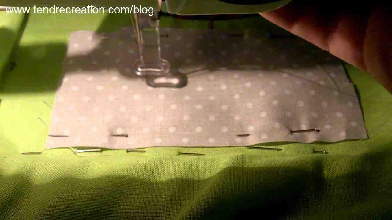 Comment faire la couture d'application à la main?