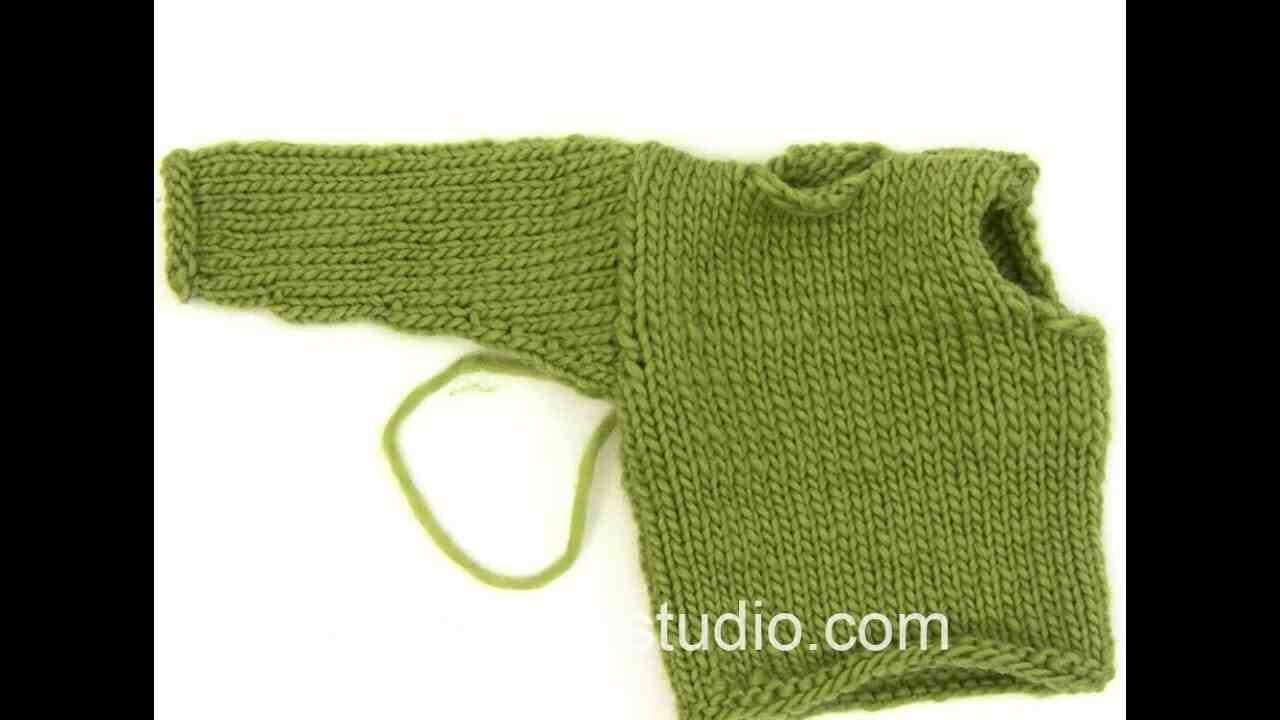 Comment faire une poche à tricoter?