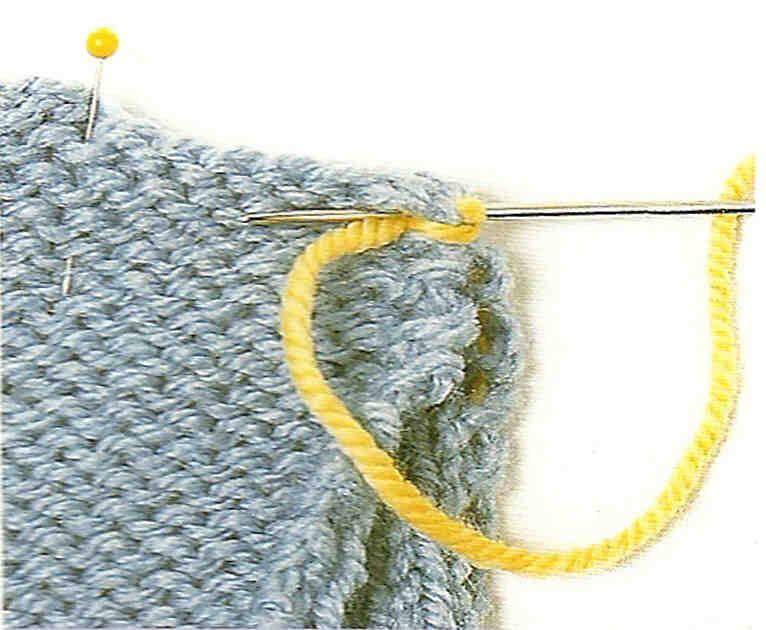 Comment tricoter en jarretière?