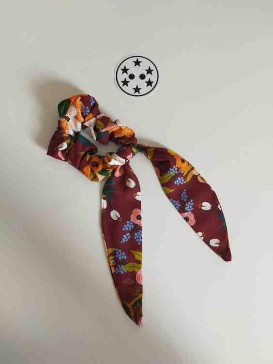 Comment faire un chouchou en tissu simple ?