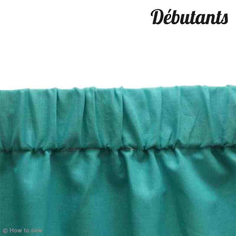 Comment faire un ourlet de pantalon avec un elastique ?