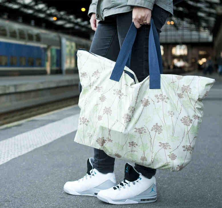 Comment faire un sac double tissu ?