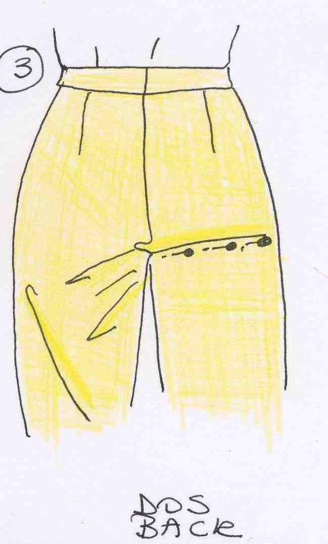 Comment serrer le bas de mon pantalon ?