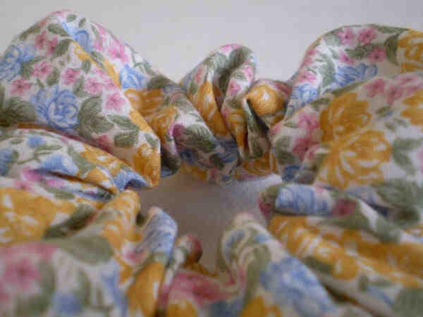 Quelle longueur de tissu pour faire un chouchou ?